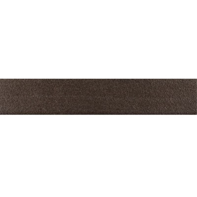 Optima Graphite Bullnose 4x24 Polished Porcelain Tile