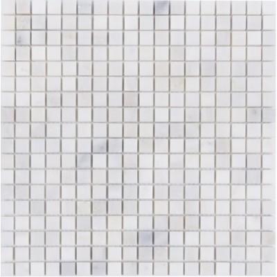 Oriental White 12x12 Polished Marble Mosaic