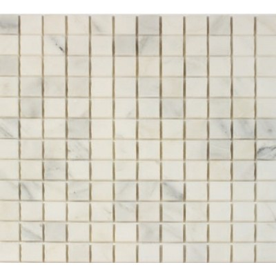 Oriental White 1x1 Honed Mosaic