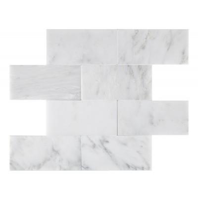 Oriental White 3x6 Polished