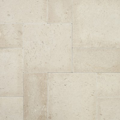 Freska French Pattern 16 Sft x 10 Tumbled Limestone Pavers