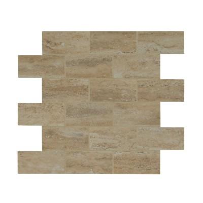 Pietra Venata Sand 2X4 Polished Mosaic