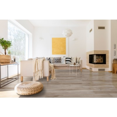 Prescott Whitfield Gray 7x48 Glossy Wood LVT
