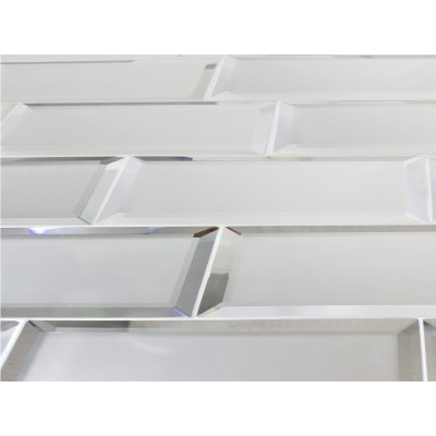 Reflections Silver 3X12 Matte Glass Tile
