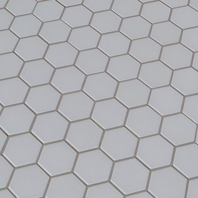 Retro Hexagon Matte Pattern Porcelain Mosaic