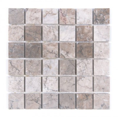 Temple Gray 2x2 Polished Mosaic