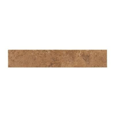 Travertino Walnut 3x18 Bull Nose Glazed