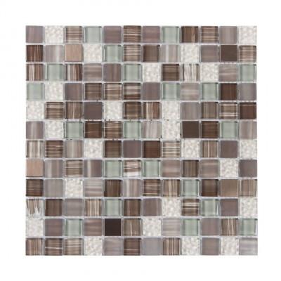 Treethorn 1x1 Hand Painting Glass Mosaic
