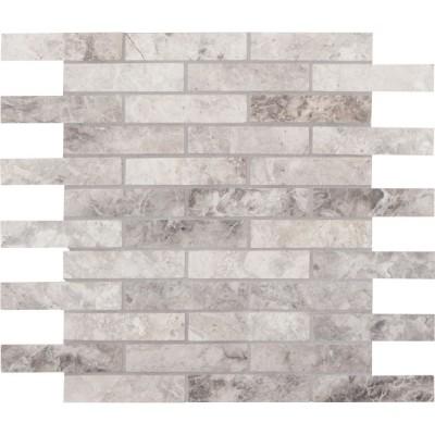 Tundra Gray 1x4 Polished Mosaic
