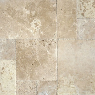 Tuscany Storm 16 sqft Pattern Honed Unfilled Chipped
