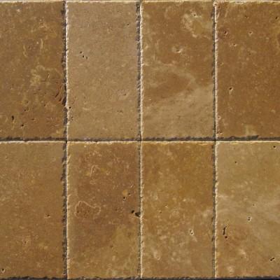 Tuscany Walnut 6x6 Chipped Edge Pavers