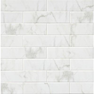 Classique White Carrara 4X16 Glossy