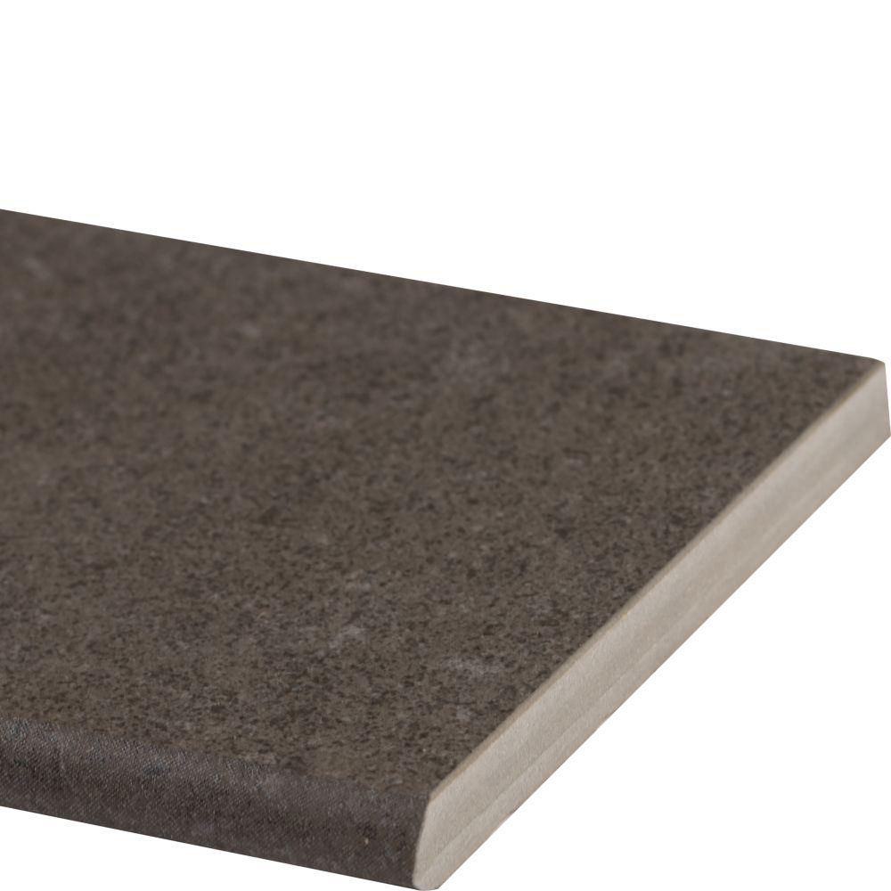 Dimensions Concrete 4x12 Matte Bullnose Tilesbay Com