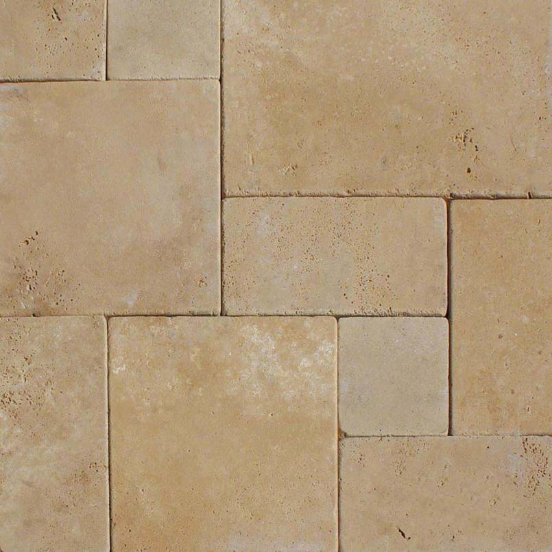 Durango Cream 16x24x3 Tumbled Pavers