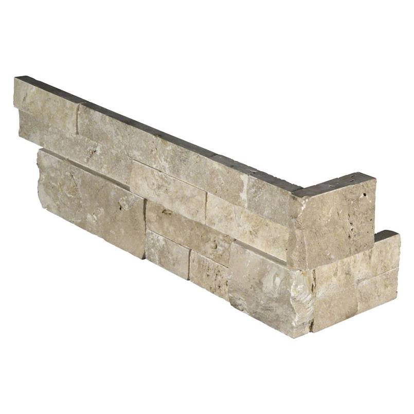Durango Cream 6X12X6 Split Face Corner Ledger Panel