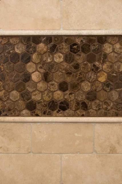Tuscany Classic Dome Molding 1x1x12 Honed