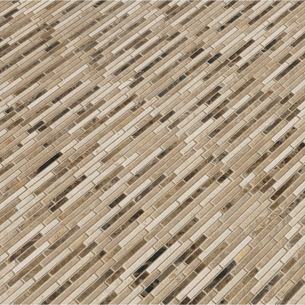 Emperador Bamboo Blend 10MM Tumbled
