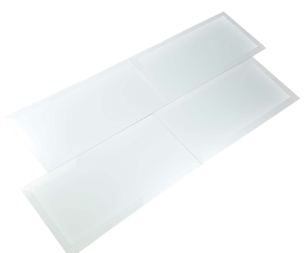 Frosted Elegance Marie 8x16 Glass Tile