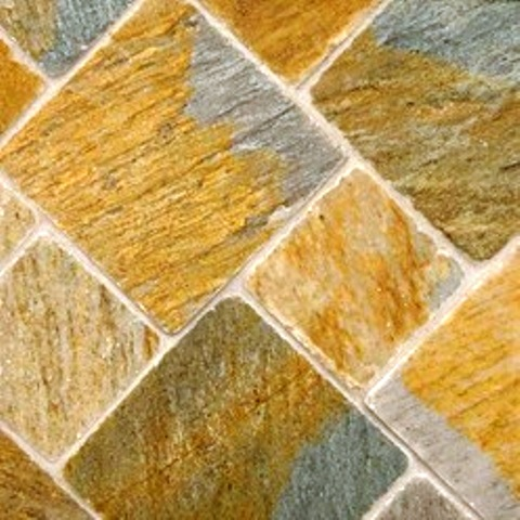 Golden White Gauged On Back-Sides Sawn Cut 24X24