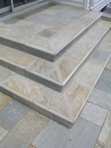 Golden White 12x24 Natural Cleft