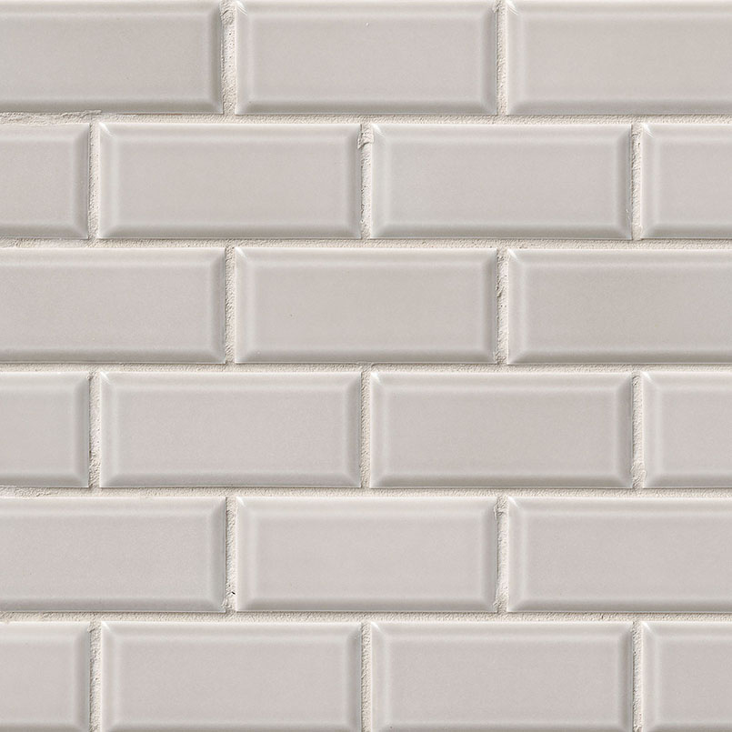 Glossy 2x4 Bevel Porcelain Subway Tile