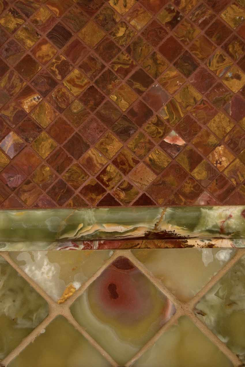 Green Onyx 1x2x12 Rail Molding Polished