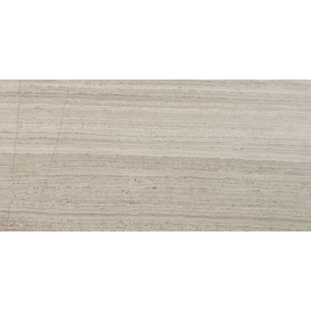 12x24 Marble Tile: Grey Oak 12X24 Honed Marble Tile