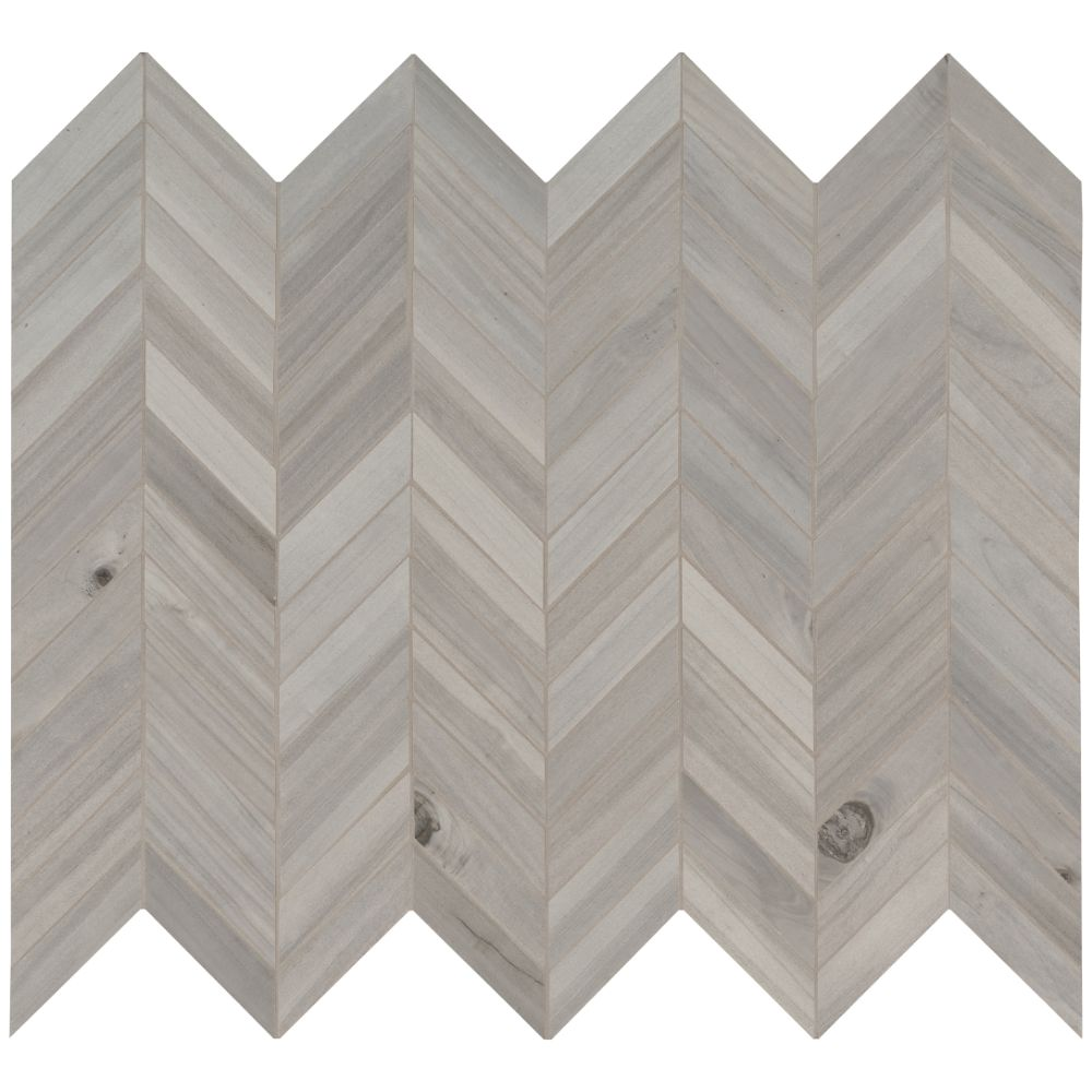 Havenwood Platinum 12X15 Matte Chevron Mosaic