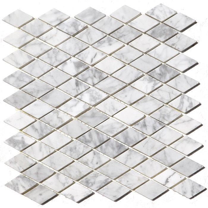 Arabescato Carrara Rhomboid
