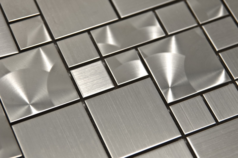 Stainless Steel Magic 12x12 Pattern Mosaic