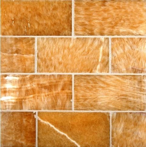 Pineapple Onyx 3x6 Polished Subway Tile Tilesbay Com
