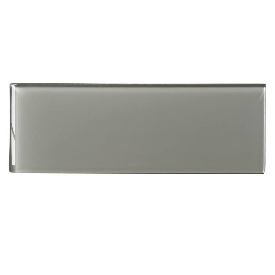 Ice Grey 4x12 Glossy Glass Subway Tile Tilesbay Com