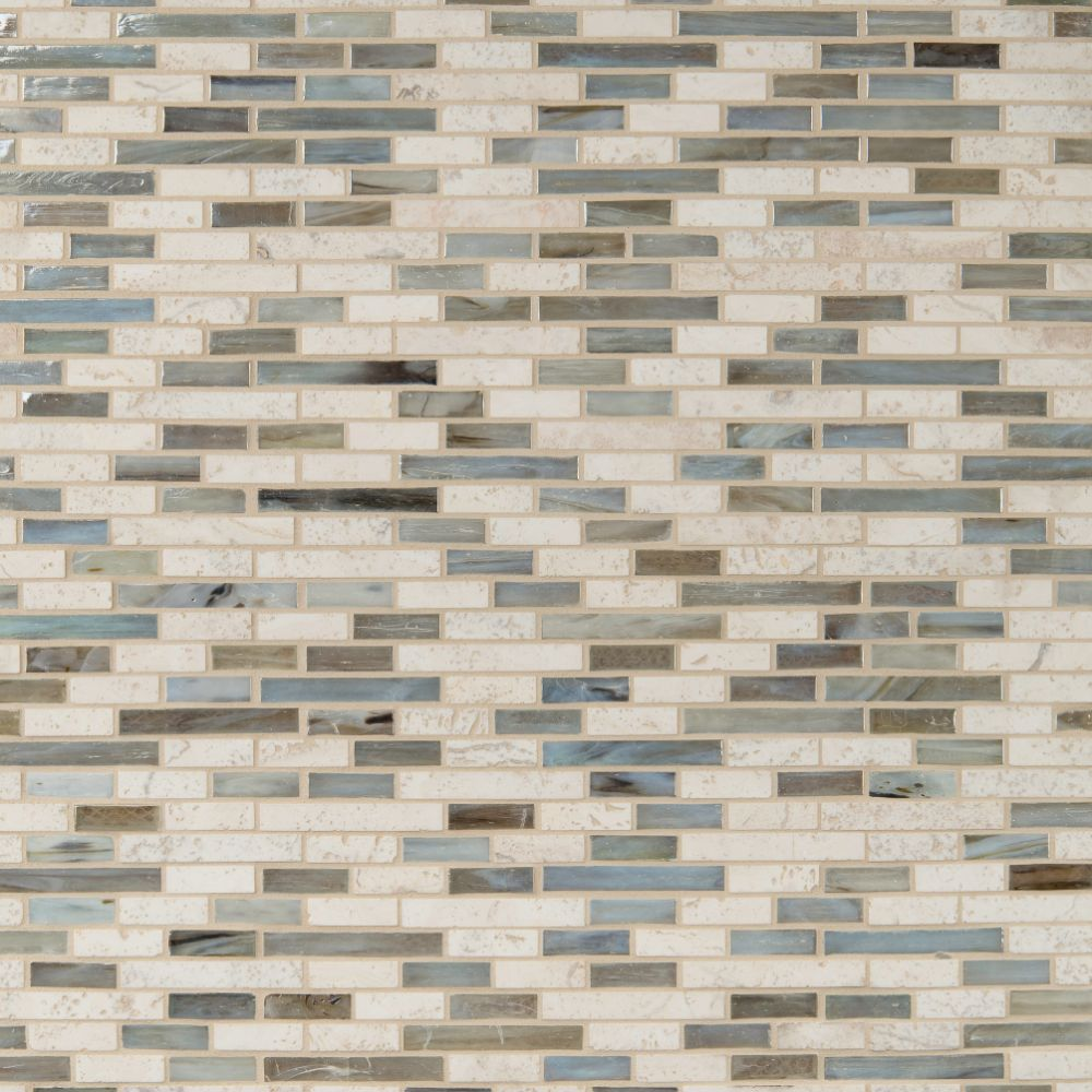 Kaledo Blend Interlocking 6mm Pattern Backsplash Tile