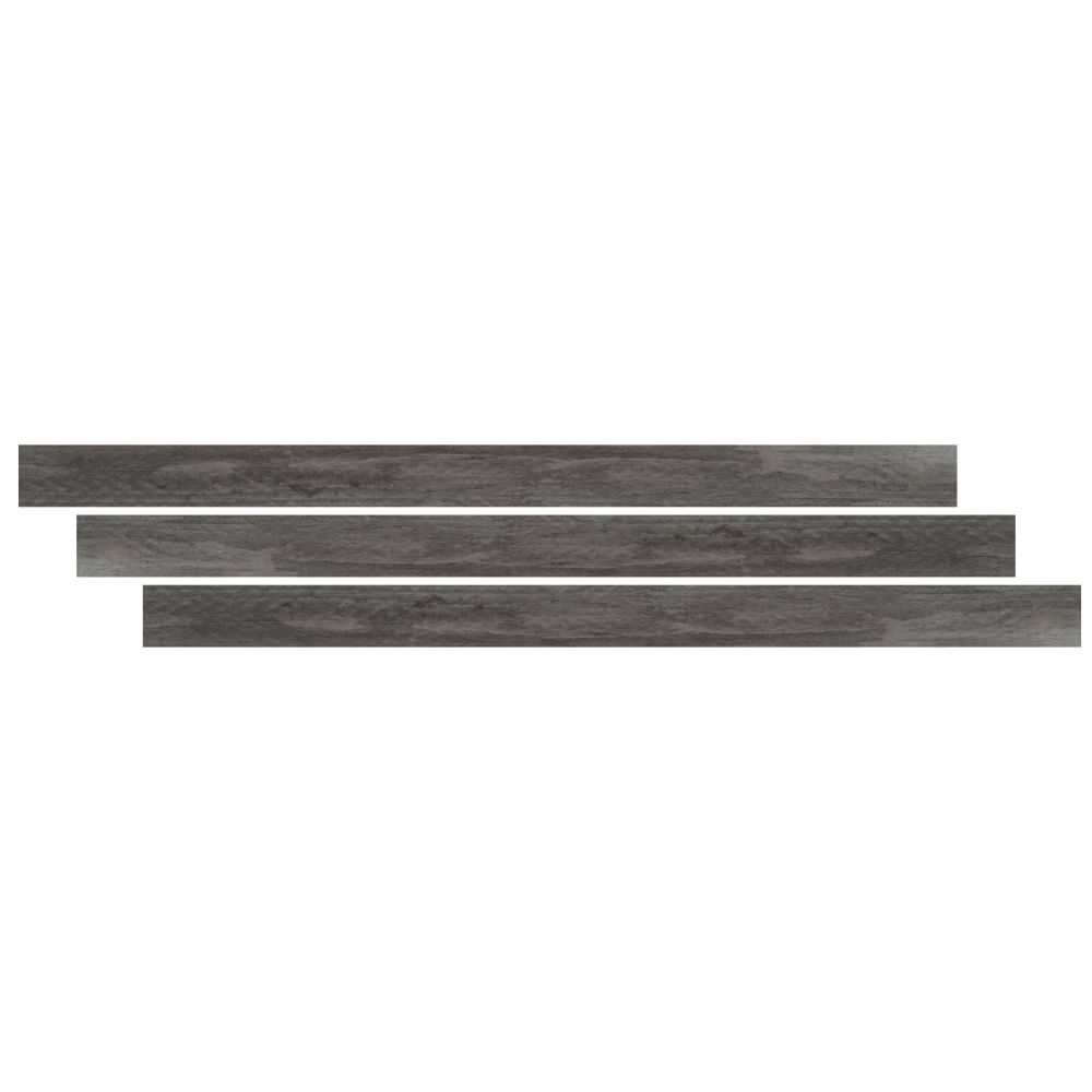 Katella Ash / Woodrift Gray 1-3/4X94 Vinyl Large Tmolding