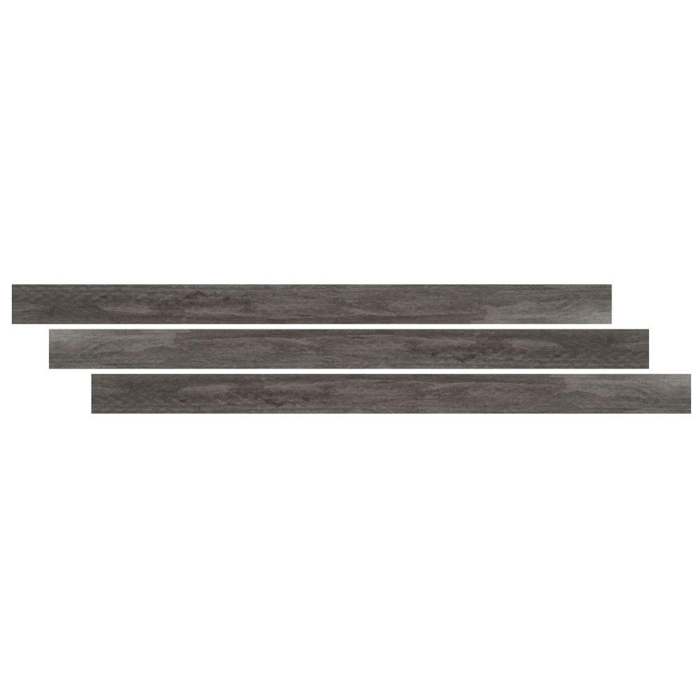 Katella Ash / Woodrift Gray 1-3/4X94 Vinyl Tmolding