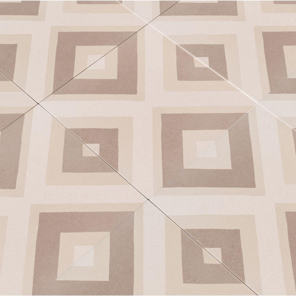 Kenzzi Metrica 8X8 Matte Porcelain Tile