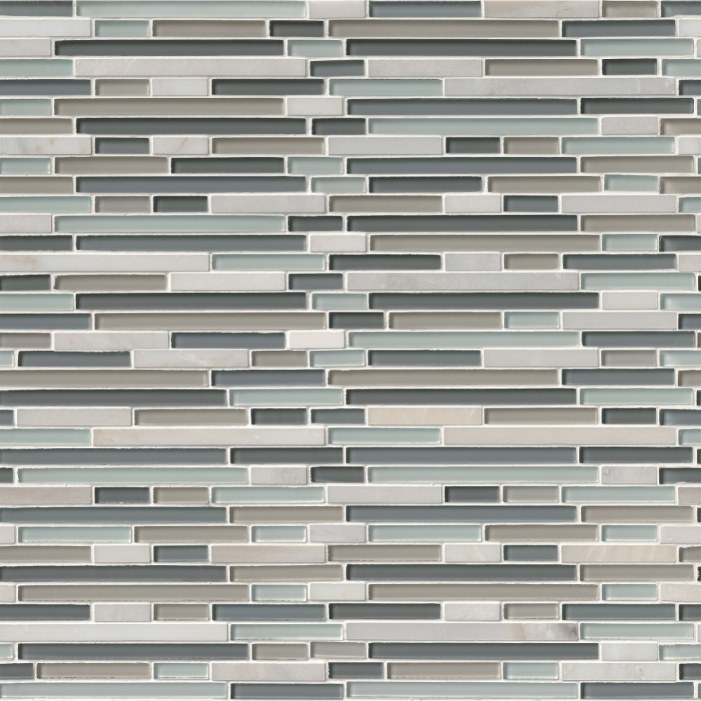 Keystone Blend Interlocking 8MM Mosaic