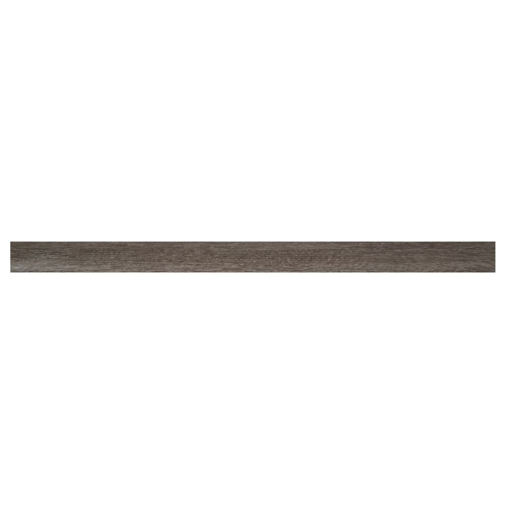 Ludlow / Charcoal Oak 2-3/4X94 Vinyl Flush Stair Nose
