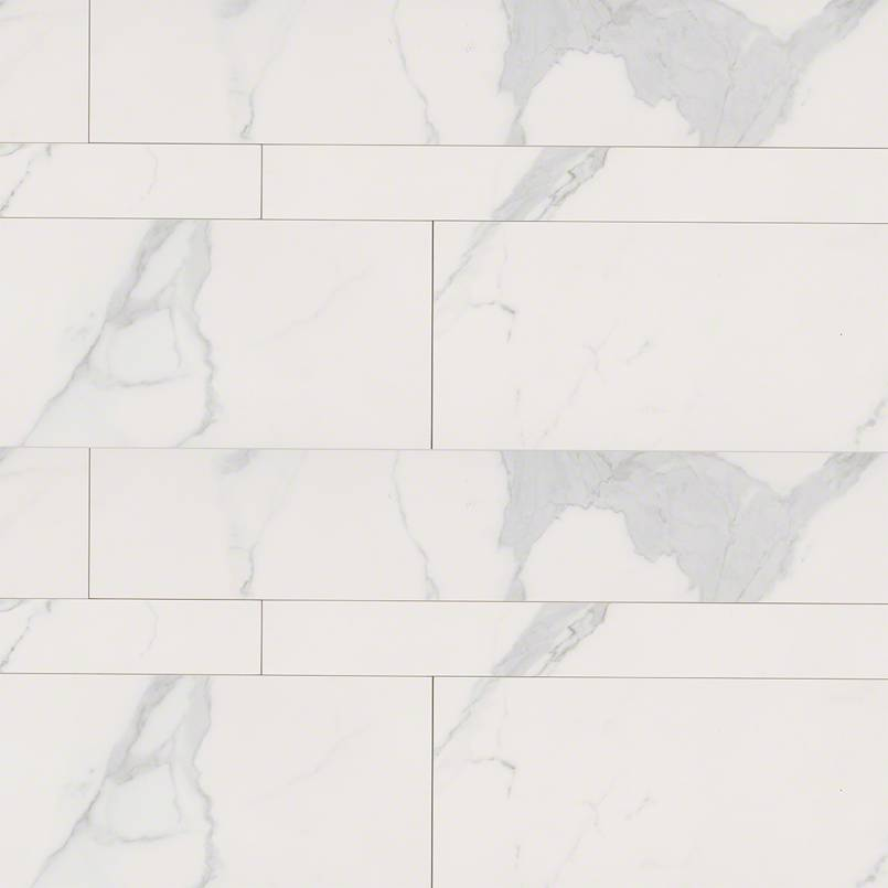 Marbella Carrara Pattern 13.5 SFT Matte Porcelain Tile