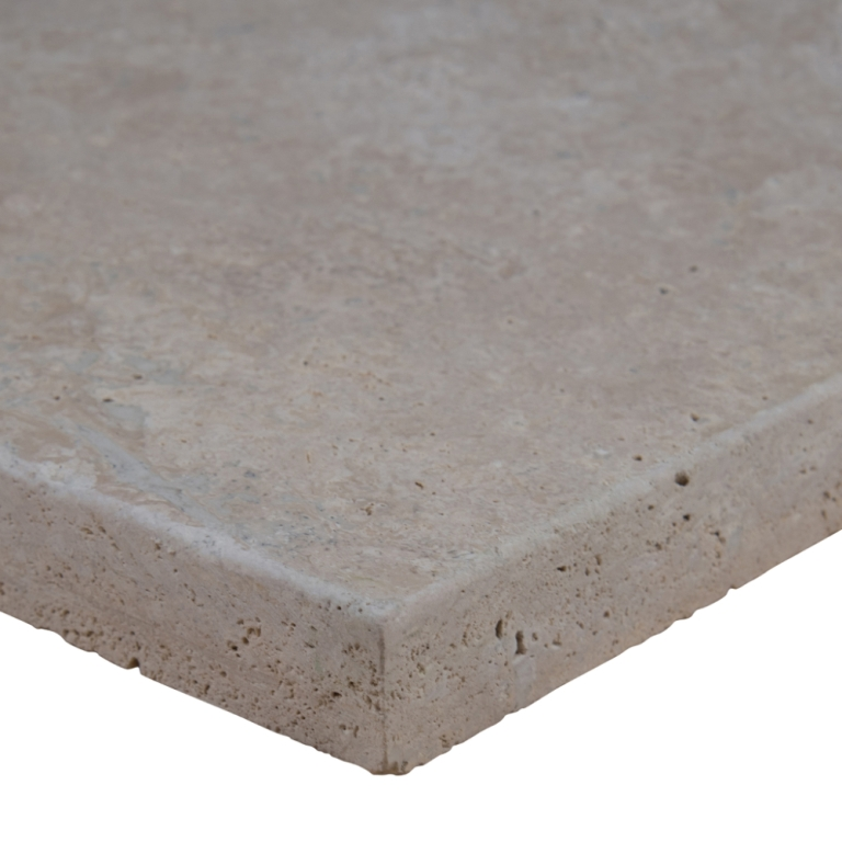 Mocha Ashlar Pattern 16 Sft x 10 Kits Honed Unfilled Tumbled Brushed Paver