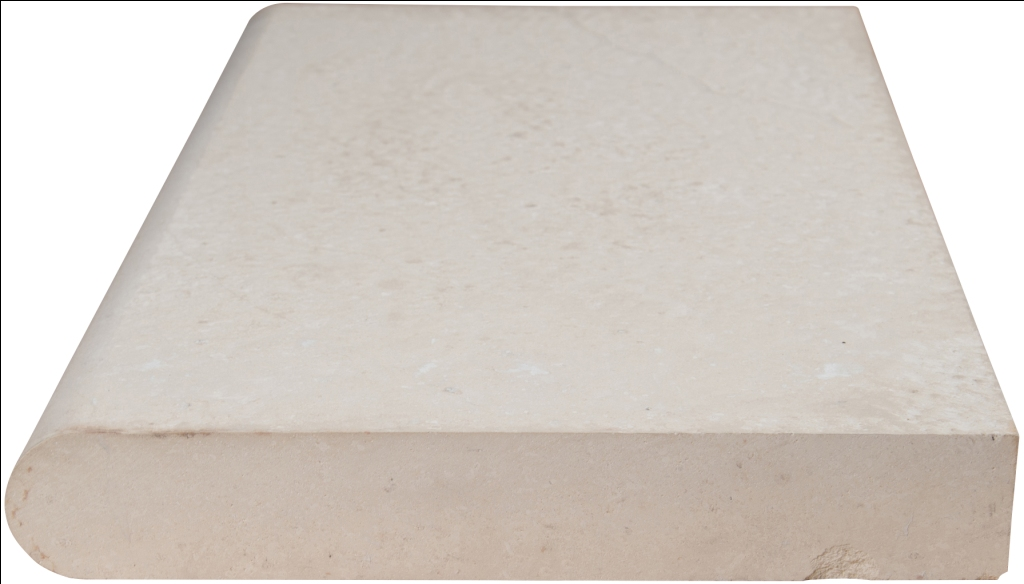 Monaco 12x24 Brushed One Long Side Bullnose Pool Coping