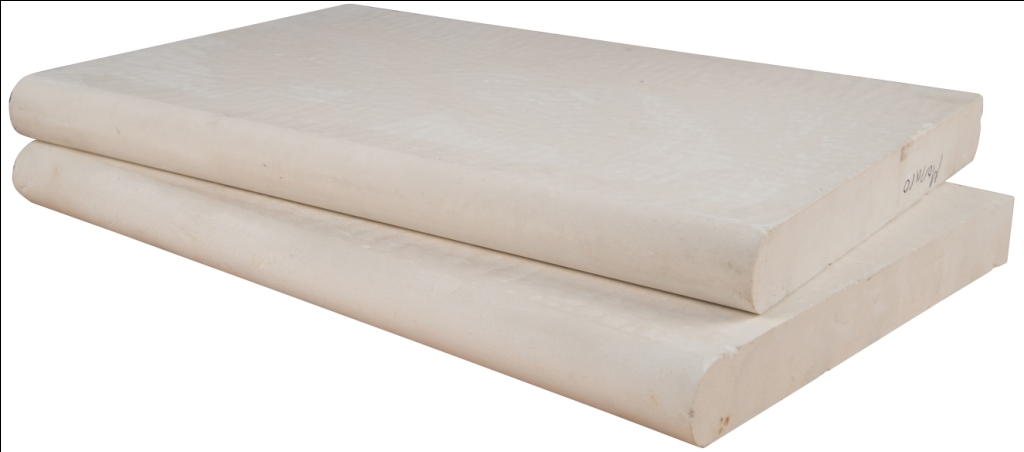 Monaco 16X24 Brushed One Long Side Bullnose Pool Coping