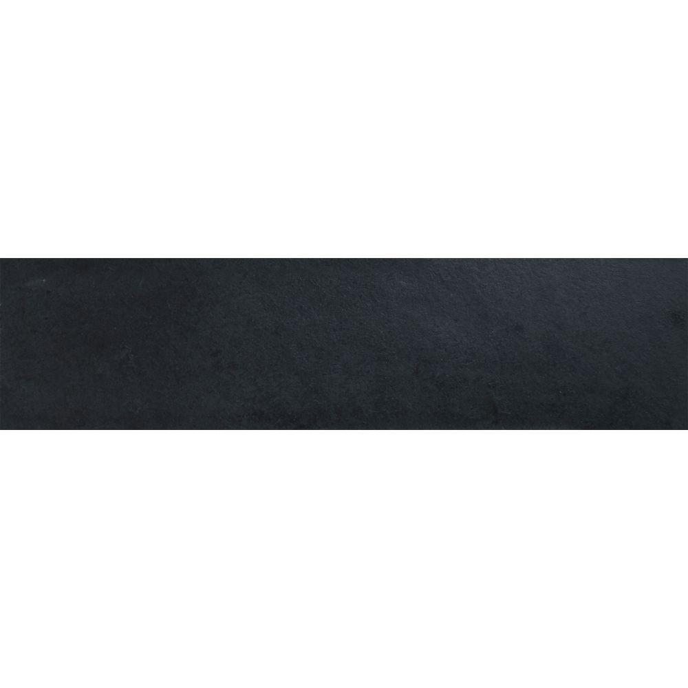 Montauk Black 6X24 Gauged Slate Tile