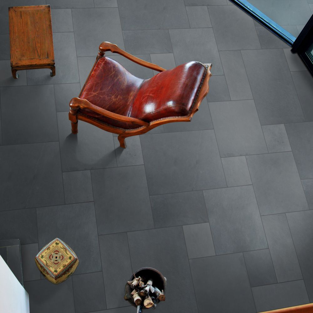 Montauk Blue 16 Sft Ashlar Pattern Gauged Slate