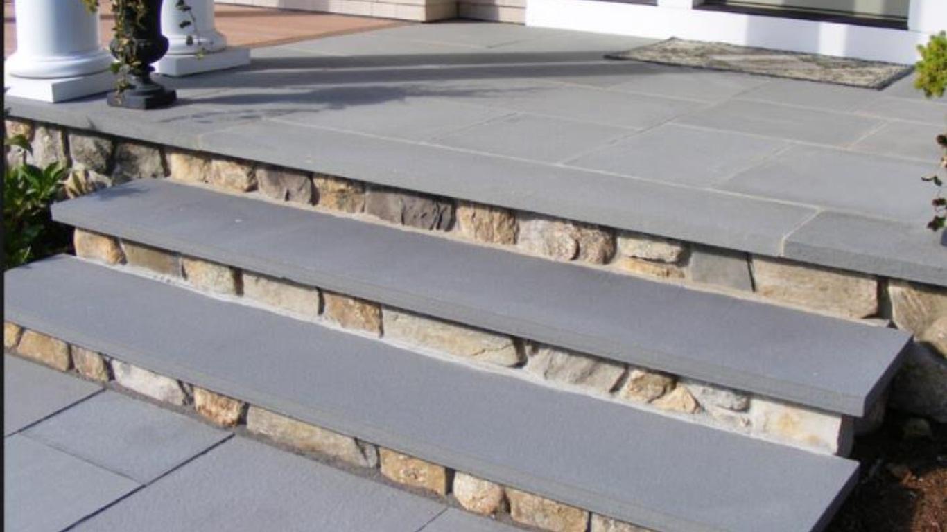 Mountain Bluestone 12x84 Flamed Sandstone Treads