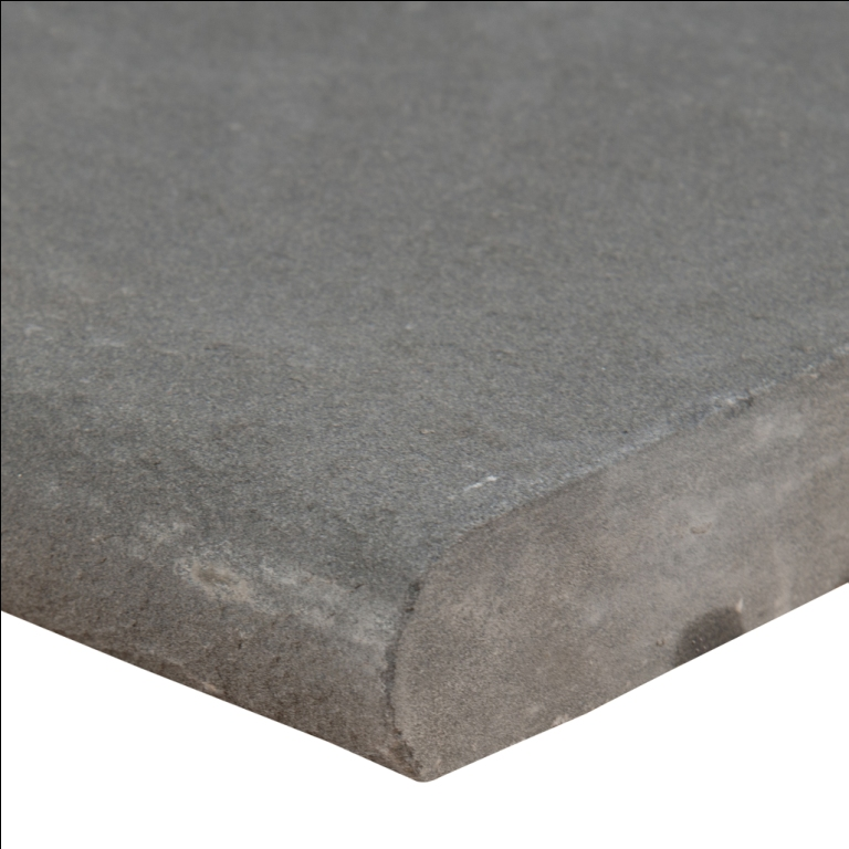 Mountain Bluestone 16X24 Flamed One Long Side Bullnose Pool Coping