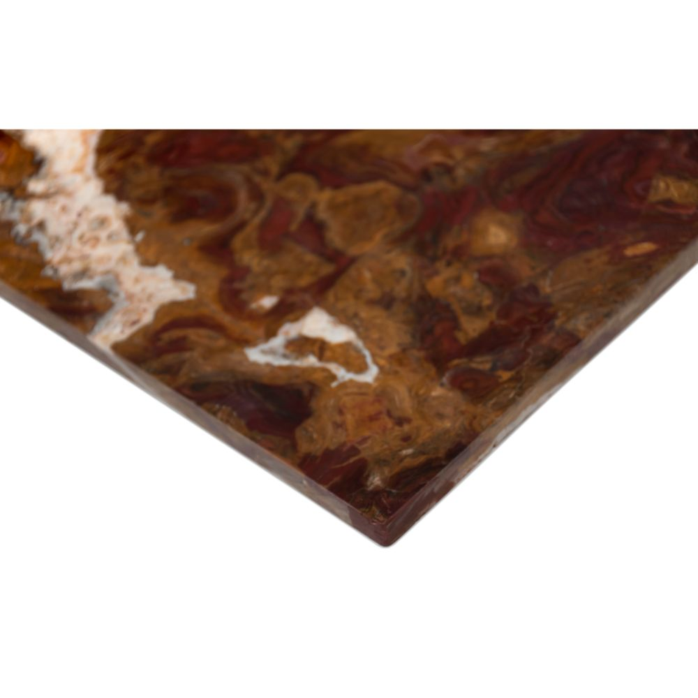 Multi Red Onyx 12X12 Polished