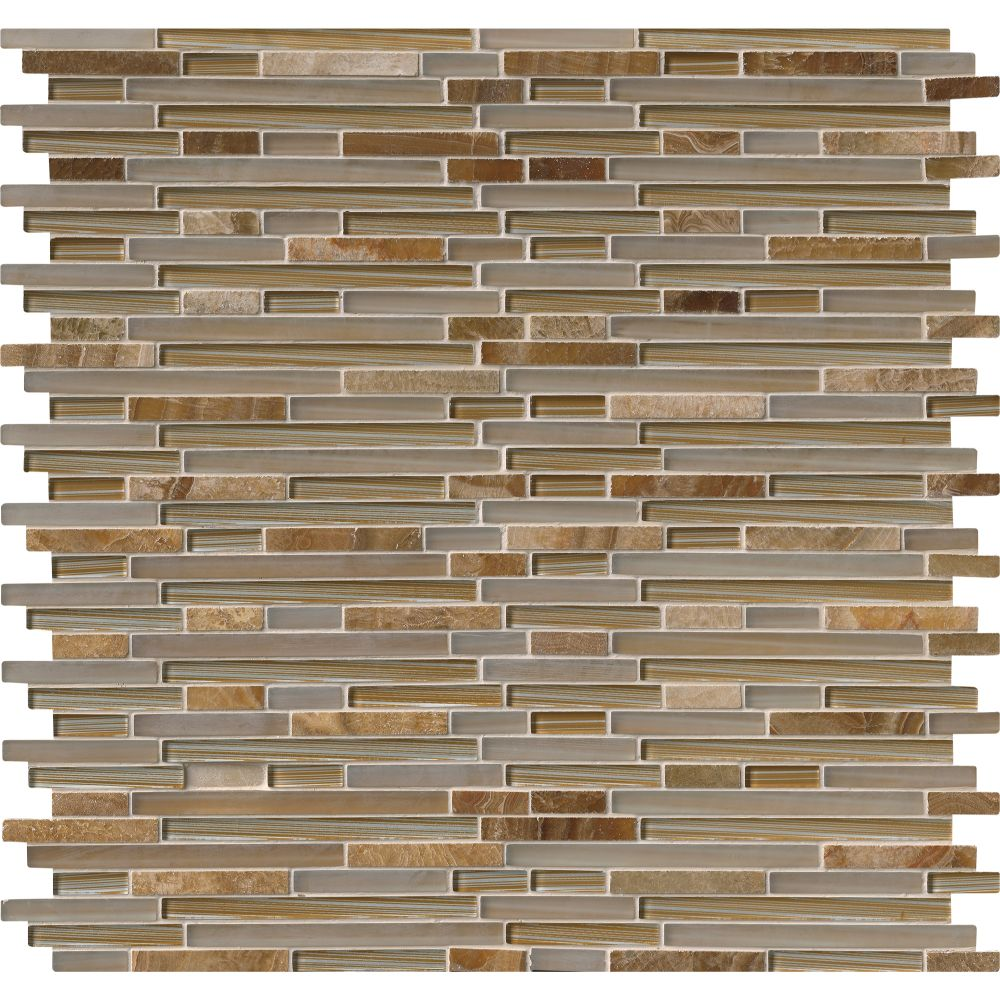 Pelican Sand Interlocking 8mm Mosaic Tile Tilesbay Com