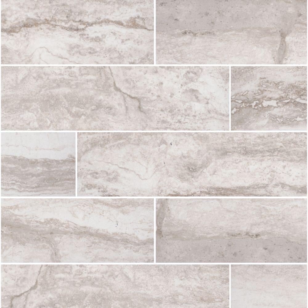 Pietra Bernini Bianco 4x18 Matte Porcelain Tile Tilesbay Com