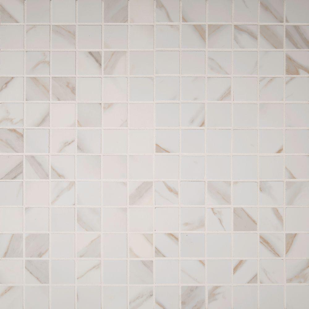 Pietra Calcatta 2X2 Polished Mosaic